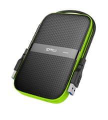 Silicon Power Armor A60 1TB, zelený (SP010TBPHDA60S3K)
