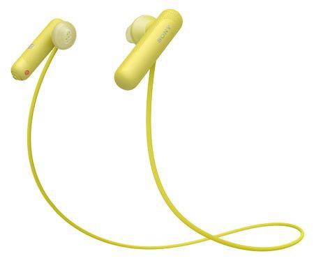 SONY WI-SP500 sárga fülhallgató