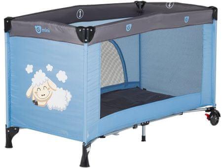 G-mini łóżeczko turystyczne, Owieczka, Icily blue