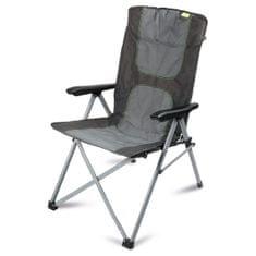 Kampa stolac za kampiranje Consul Reclining Chair, sivi
