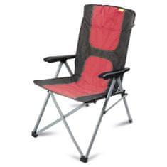Kampa stolac za kampiranje Consul Reclining Chair, crveni