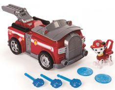 Spin Master Paw Patrol Rychle měnící se vozidlo červená