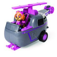 Spin Master Paw Patrol Rýchlo meniace sa vozidlo šedá