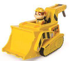 Spin Master Paw Patrol Rýchlo meniace sa vozidlo žltá