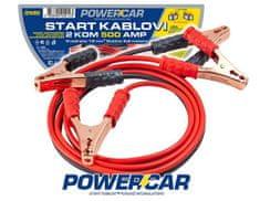 PowerCar kablovi za paljenje, 500 A, 2,6 m