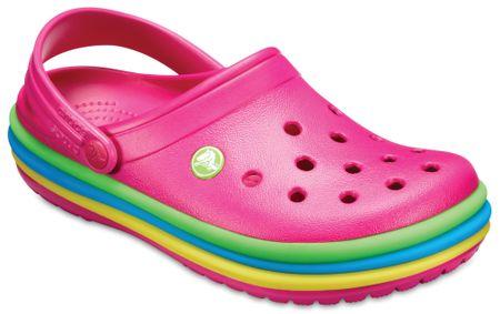 Crocs CB Rainbow Clog Candy Pink lábbeli 42,5
