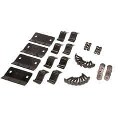 JOPE Montážny kit pätky, 4 ks, typ strechy: pozdĺžniky, pre vozidlá AUDI, SEAT