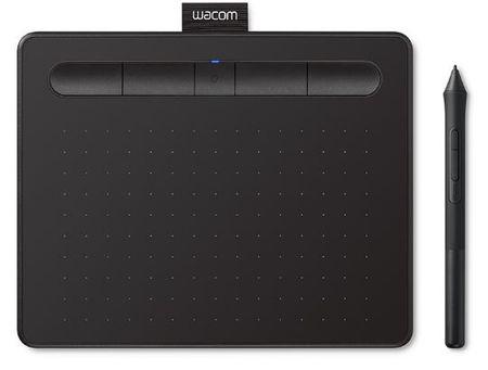 Wacom grafična tablica Intuos S Bluetooth, črna (2018)
