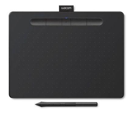 Wacom grafična tablica Intuos M Bluetooth, črna (2018)