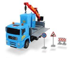 DICKIE Auto Truck Heavy City 22 cm, niebieski