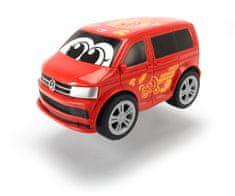 DICKIE Auto Happy VW T6 Squeezy 11 cm, czerwony