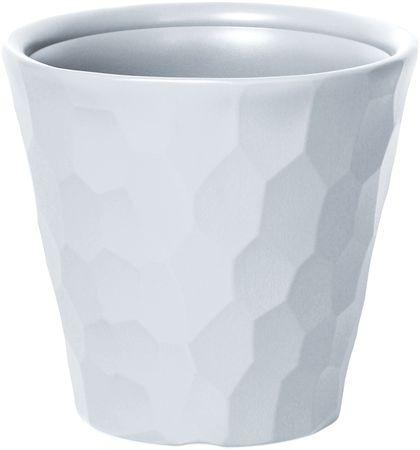J.A.D. TOOLS Kvetináč Rocka 35 cm biela