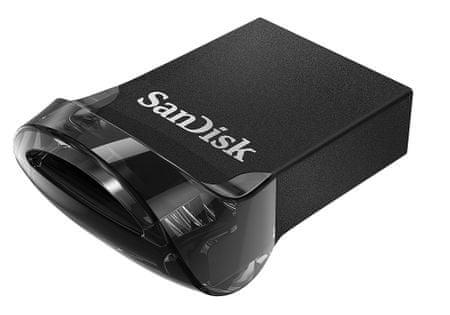 SanDisk USB ključ Cruzer Ultra FIT 128 GB, USB 3.1