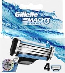 Gillette Mach3 Start hlavice do holiaceho strojčeka 4 ks