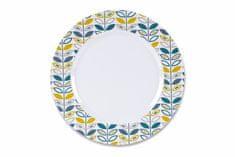 Kampa krožnik Flora Heritage Dinner Plate, 26,6 cm