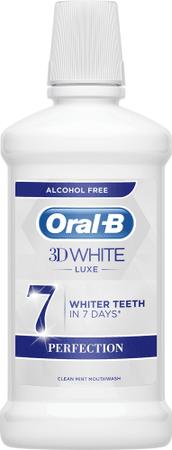 Oral-B White Luxe Perfection vodica za usta, 500 ml
