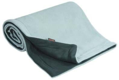 Emitex Deka 70x100 fleece, antracit/světle šedá