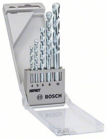 Bosch 5-delni komplet svedrov za gradbene materiale CYL-1 (1609200228)