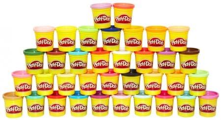 Play-Doh Mega paket plastelina, 36 kosov
