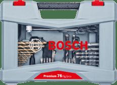 Bosch 76-dijelni Premium komplet nastavaka, vijaka i svrdala (2608P00234)