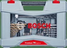 Bosch 76-delni Premium komplet nastavkov, vijaki/svedri (2608P00234)
