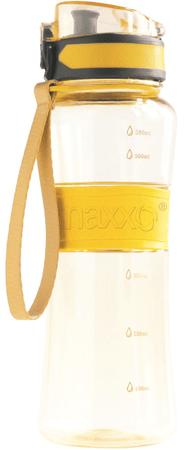 MAXXO sportowa butelka 600 ml, żółta