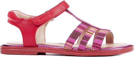 Geox dekliški sandali Karly, rdeči, 33