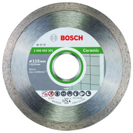 Bosch diamantna rezalna plošča Professional for Ceramic 115 x 22 mm (2608602201)