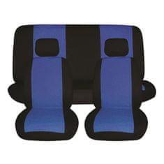 Finish Line prevleke za sedeže, 6 delne, modro-črne