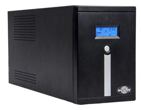 Samurai Power UPS brezprekinitveno napajanje SMART 3000 LCD, Line-Interactive 3000VA/1800W LCD