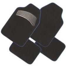 FINISH LINE tekstilni otirač, crno-plavi