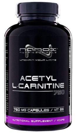 Nanox kapsule acetil L-karnitin (750 mg), 90 komada