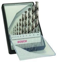 Bosch 10-dijelni komplet svrdala za metal Robust Line HSS-G, 135° (2607010535)
