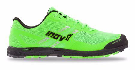 Inov-8 moški tekaški čevlji TRAILROC 270 (M) črno/zeleni, 45,5