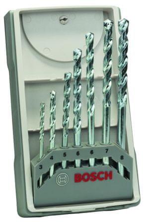 Bosch 7-delni komplet svedrov za kamen CYL-1 (2607017079)