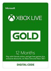 Microsoft Xbox Live Gold - 12 miesięcy