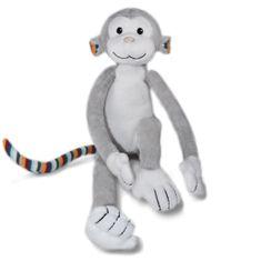 ZAZU Opička MAX - plyšové noční světlo