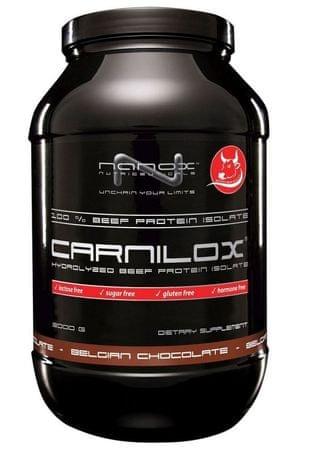 Nanox izolat govedine Beef protein Carnilox, čokolada, 900 g