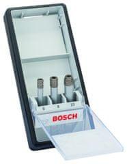 Bosch 3-delni komplet diamantnih svedrov Robust Line, Standard for Ceramic (2607017341)