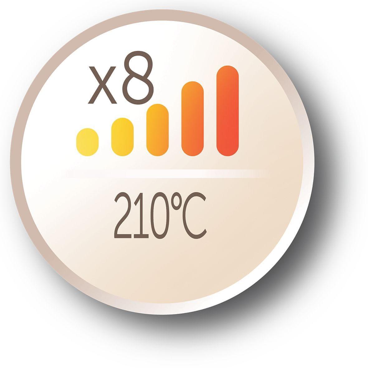 Remington Ci5318 Keratin Protect nastavení teploty