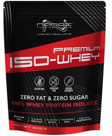Nanox izolat proteina Premium ISO-Whey, Stracciatella, 2000 g