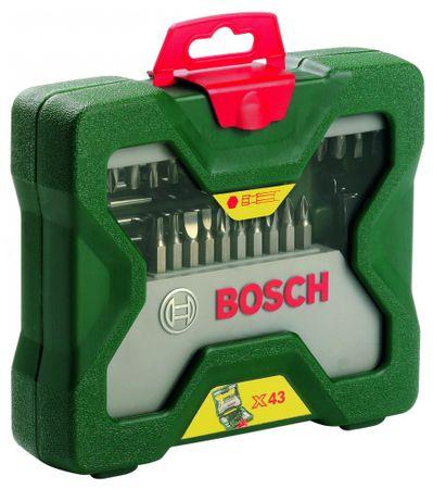 Bosch 43-delni komplet šesterorobih svedrov X-Line (2607019613)