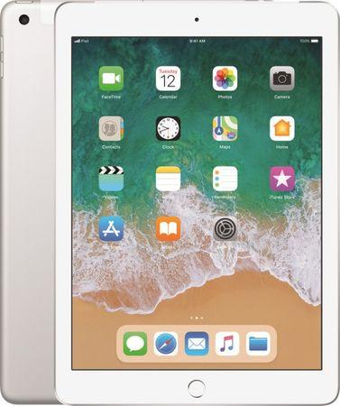 Apple iPad Cellular 32GB, Silver 2018 (MR6P2FD/A)