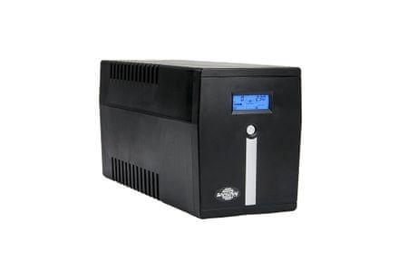 Samurai Power UPS brezprekinitveno napajanje SMART 2000 LCD, Line-Interactive 2000VA/1200W LCD - Odprta embalaža