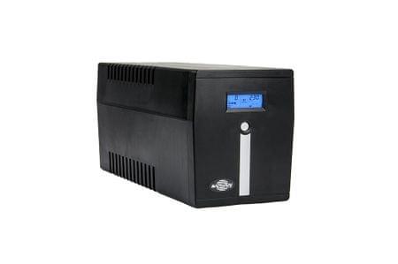 Samurai Power UPS brezprekinitveno napajanje SMART 1000 LCD, Line-Interactive 1000VA/600W LCD