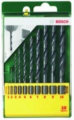 Bosch 10-dijelni komplet svrdala za metal HSS-R (2607019442)