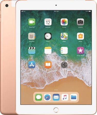 Apple iPad 2018, Wi-Fi/LTE, 128GB (MRM22FD/A) - Gold