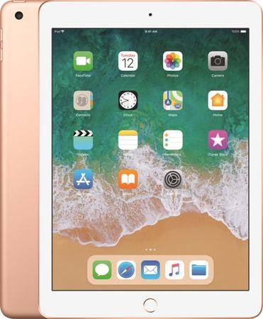 Apple iPad 2018 Wi-Fi, 32 GB tablični računalnik, Gold (MRJN2FD/A)