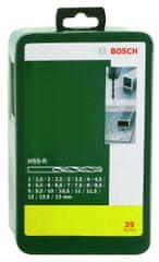 Bosch komplet HSS-R svrdala za metal, 25 komada (2607019446)