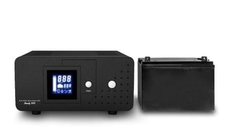 Well HEAT PSU-800 + 40Ah baterija